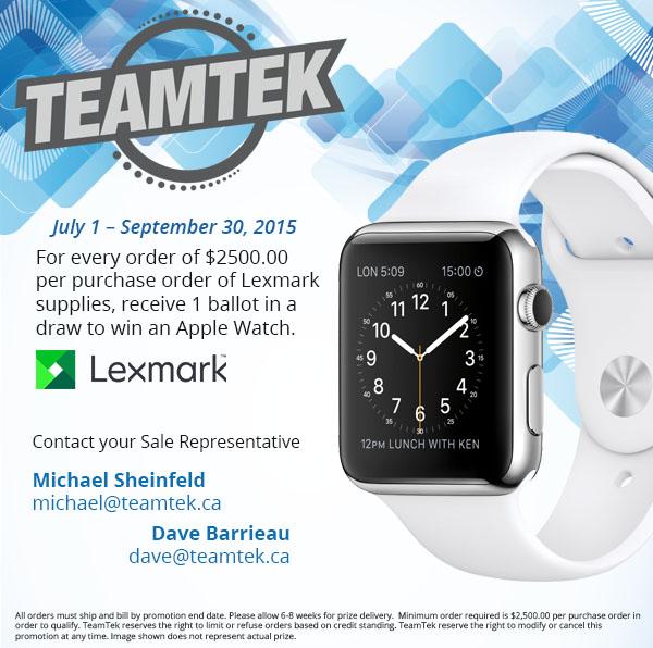 Apple Watch Promotion